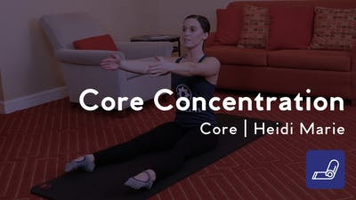 Instant Access to Core Concentration by Club Pilates, powered by Intelivideo