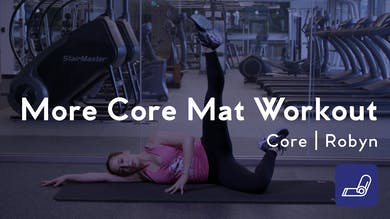 More Core Mat Workout by Club Pilates