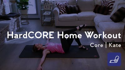 Instant Access to HardCORE Home Workout by Club Pilates, powered by Intelivideo