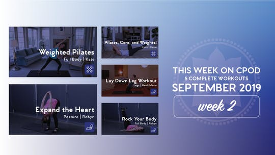 This Week on Club Pilates On Demand | September 2019 | Week 2 by Club Pilates