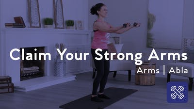 Instant Access to Claim Your Strong Arms by Club Pilates, powered by Intelivideo