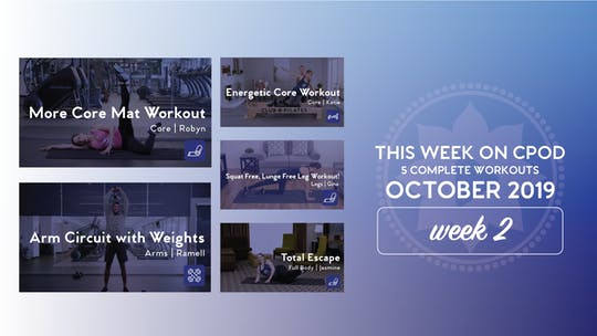 This Week on Club Pilates On Demand | October 2019 | Week 2 by Club Pilates