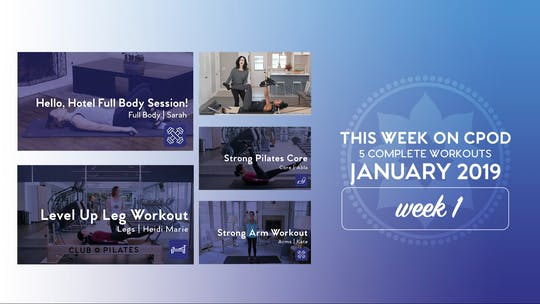This Week on Club Pilates On Demand | January 2020 | Week 1 by Club Pilates