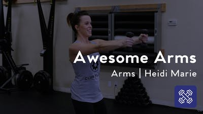 Instant Access to Awesome Arms by Club Pilates, powered by Intelivideo