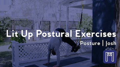 Lit Up Postural Exercises by Club Pilates
