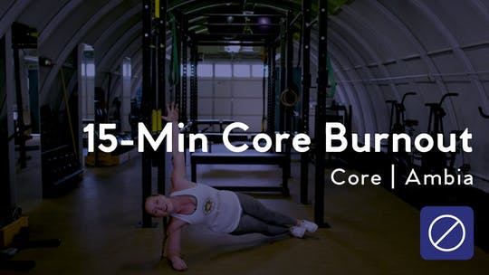 Instant Access to 15 Minute Core Burnout by Club Pilates, powered by Intelivideo