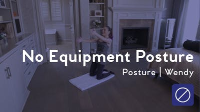 Instant Access to No Equipment Posture Corrector by Club Pilates, powered by Intelivideo