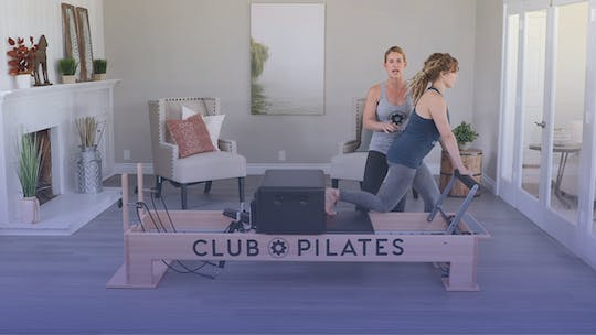 Instant Access to Toned Legs Using The Reformer by Club Pilates, powered by Intelivideo