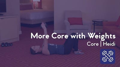 More Core with Weights by Club Pilates