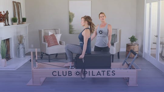 Instant Access to Uplifting Postural Workout On The Reformer by Club Pilates, powered by Intelivideo