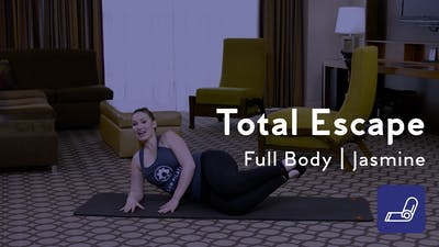 Instant Access to Total Escape Mat Workout by Club Pilates, powered by Intelivideo