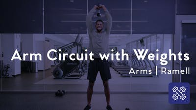 Instant Access to Arm Circuit With Weights by Club Pilates, powered by Intelivideo