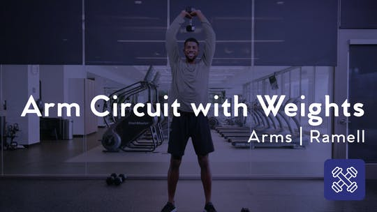 Get access to Arm Circuit With Weights by Club Pilates
