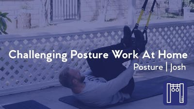 Instant Access to Challenging Posture Work At Home by Club Pilates, powered by Intelivideo