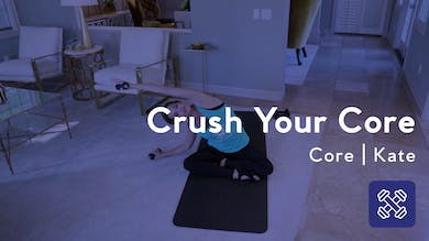 Crush Your Core Home Workout by Club Pilates