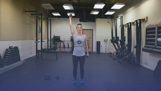 Instant Access to Awesome Arms With Free Weights by Club Pilates, powered by Intelivideo