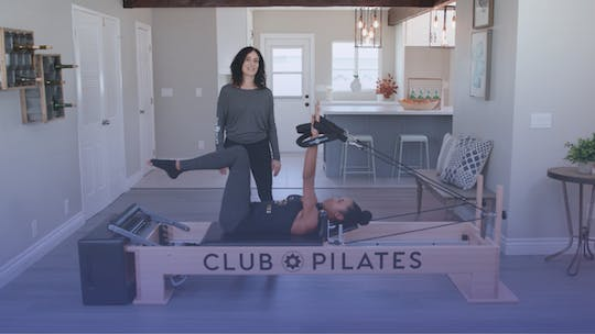 Instant Access to Toned Arms with the Reformer by Club Pilates, powered by Intelivideo
