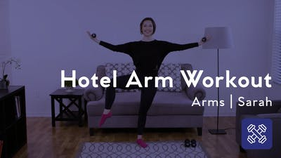 Instant Access to Hotel Arm Workout by Club Pilates, powered by Intelivideo