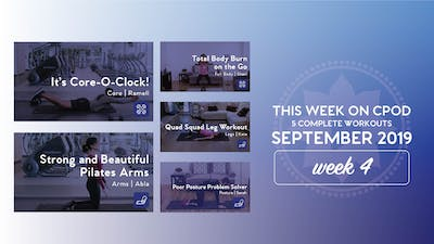 This Week on Club Pilates On Demand | September 2019 | Week 4 by Club Pilates