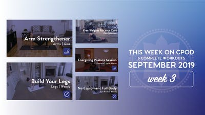 This Week on Club Pilates On Demand | September 2019 | Week 3 by Club Pilates