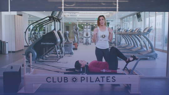 Instant Access to Feel Good Full Body Reformer Workout by Club Pilates, powered by Intelivideo