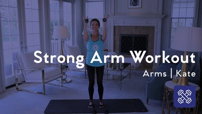 Strong Arm Workout With Weights by Club Pilates