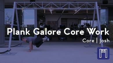 Plank Galore Core Work by Club Pilates