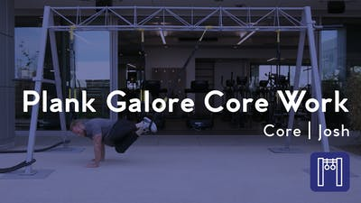 Instant Access to Plank Galore Core Work by Club Pilates, powered by Intelivideo