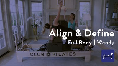 Instant Access to Align & Define Full-Body Workout by Club Pilates, powered by Intelivideo
