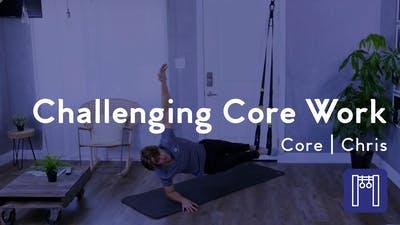 Challenging Core Work at Home by Club Pilates