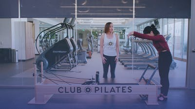 Instant Access to Creative Core Reformer Workout by Club Pilates, powered by Intelivideo