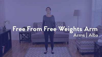 Instant Access to Free from Free Weights Arm Workout by Club Pilates, powered by Intelivideo