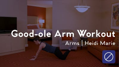 Instant Access to Good-ole Arm Workout by Club Pilates, powered by Intelivideo