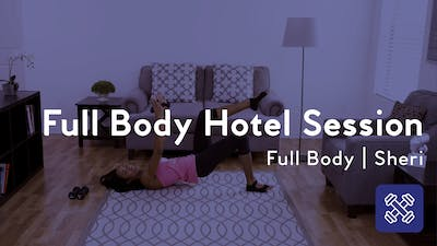 Instant Access to Full Body Hotel Session by Club Pilates, powered by Intelivideo