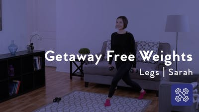 Instant Access to Getaway Free Weights Session by Club Pilates, powered by Intelivideo