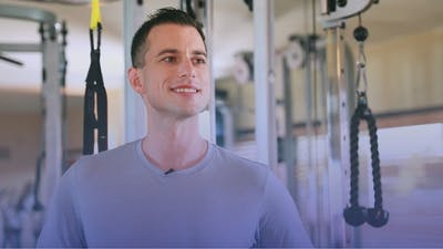 Instant Access to A Bit About Adam McAtee by Club Pilates, powered by Intelivideo