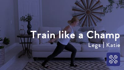 Instant Access to Train Like a Champ Leg Workout by Club Pilates, powered by Intelivideo