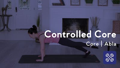 Instant Access to Controlled Core Workout by Club Pilates, powered by Intelivideo