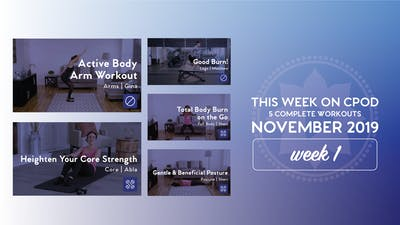 This Week on Club Pilates On Demand | November 2019 | Week 1 by Club Pilates