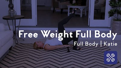 Instant Access to Free Weight Full Body Workout by Club Pilates, powered by Intelivideo