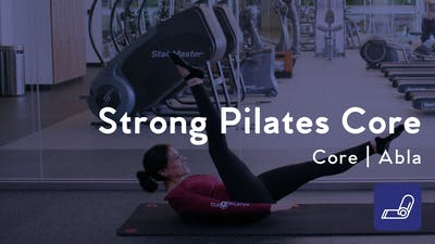 Instant Access to Strong Pilates Core by Club Pilates, powered by Intelivideo