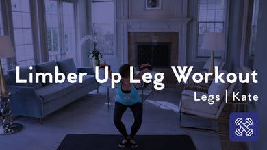 Limber Up Leg Workout by Club Pilates