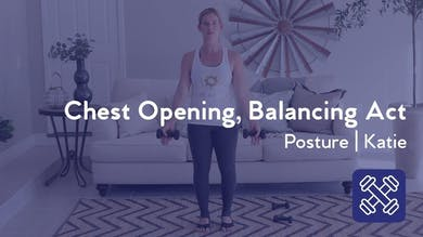 Chest Opening, Balancing Act by Club Pilates