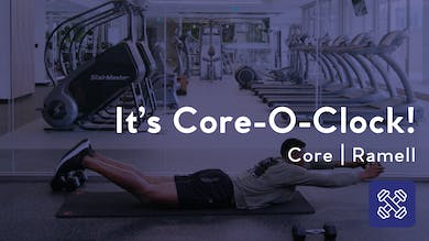 It's Core-O-Clock! by Club Pilates