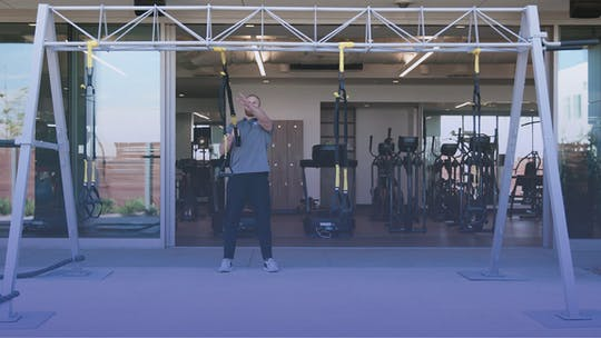 Instant Access to Upper Body Focus On The TRX by Club Pilates, powered by Intelivideo