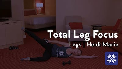 Instant Access to Total Leg Focus by Club Pilates, powered by Intelivideo