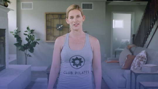 Instant Access to Talking Balance with Katie Mann by Club Pilates, powered by Intelivideo