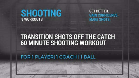 Shooting Workout 5 by EYG Basketball, powered by Intelivideo
