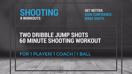 Shooting Workout 3 by EYG Basketball, powered by Intelivideo