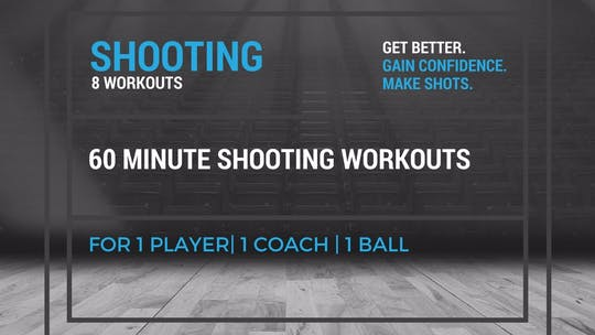 Shooting Workouts by EYG Basketball, powered by Intelivideo